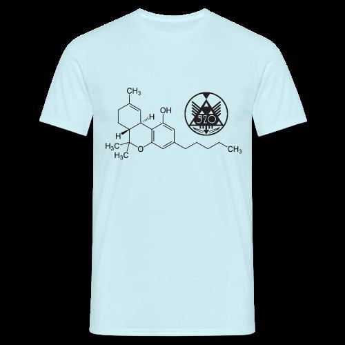 520 SMOKERSMOMENT THE CHEMIST - LIGHT BLUE T-SHIRT(HIMMELSBLÅTT!) - MEN - T-shirt herr