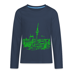 Berlin Panorama - Teenager Premium Langarmshirt
