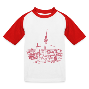 Berlin Panorama - Kinder Baseball T-Shirt