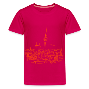 Berlin Panorama - Teenager Premium T-Shirt