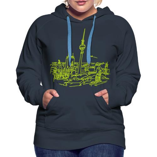 Berlin Panorama - Frauen Premium Hoodie