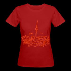 Berlin Panorama - Frauen Bio-T-Shirt