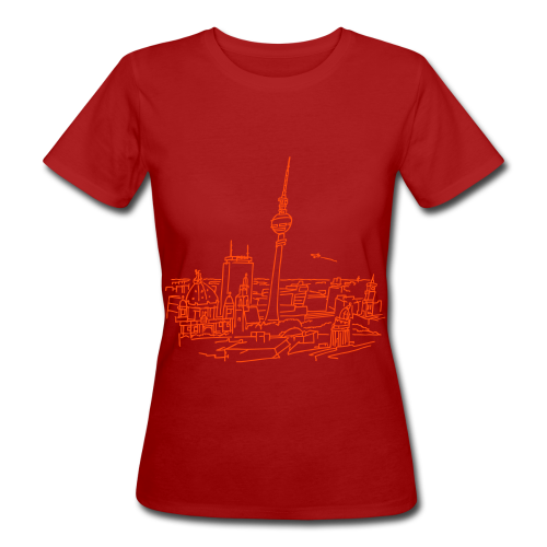 Berlin Panorama - Frauen Bio-T-Shirt
