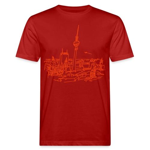 Berlin Panorama - Männer Bio-T-Shirt