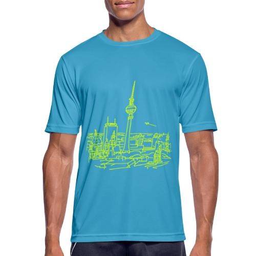 Berlin Panorama - Männer T-Shirt atmungsaktiv