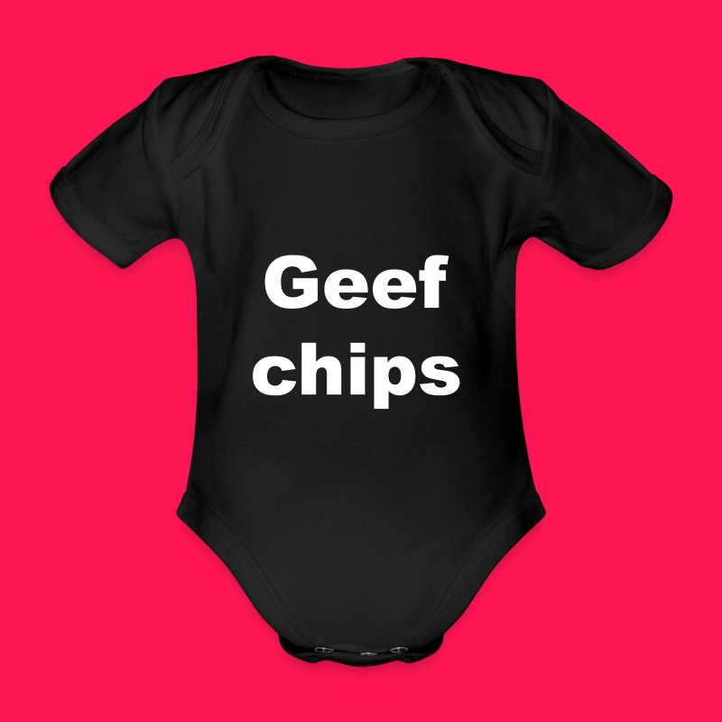 Baby Rompertje 'Geef chips' - Rompertje