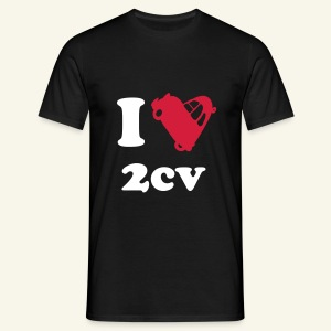 I love 2cv - T-shirt Homme
