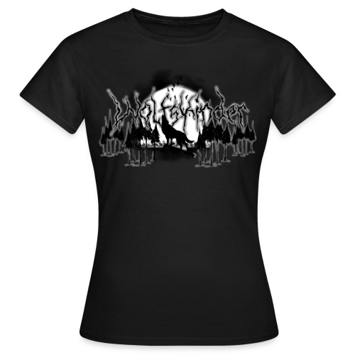 Wolfskinder Shirt Damen - Frauen T-Shirt