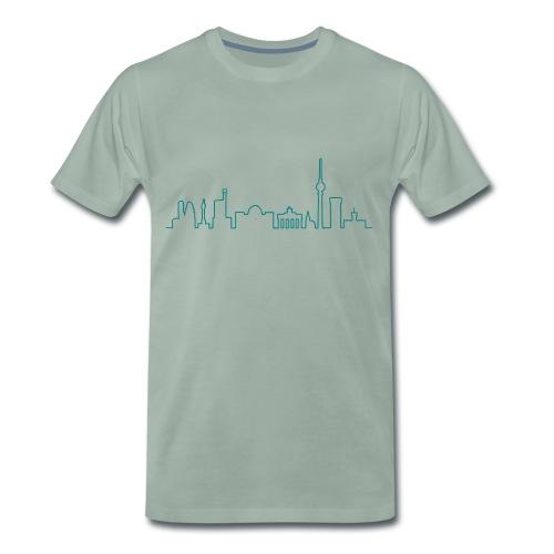 Skyline von Berlin - Männer Premium T-Shirt
