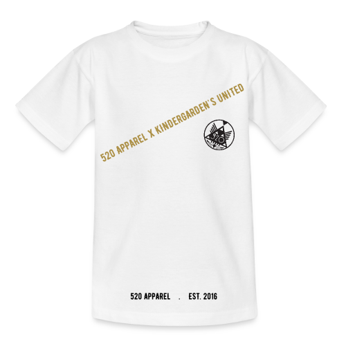 520 x kindergarden - KID T-SHIRT (not baby, check sizes!) - 4 AVAILABLE COLORS! - T-shirt barn