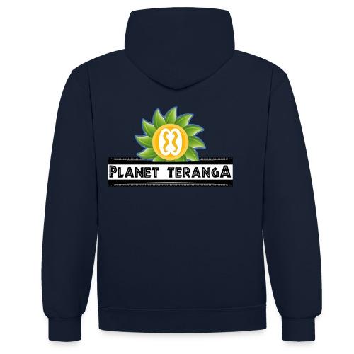 Sweat-shirt mixte Teranga - Sweat-shirt contraste