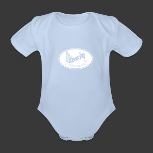 PANTA RHEI - Organic Short-sleeved Baby Bodysuit