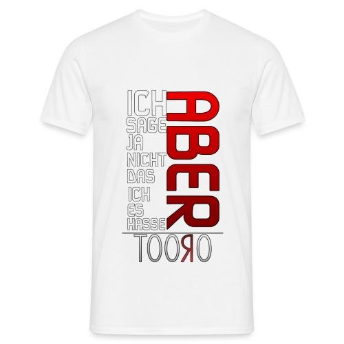 ABER - Männer T-Shirt - Männer T-Shirt