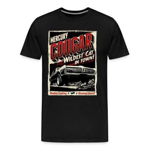 Cougar / Rot / Premium T-Shirt - Männer Premium T-Shirt