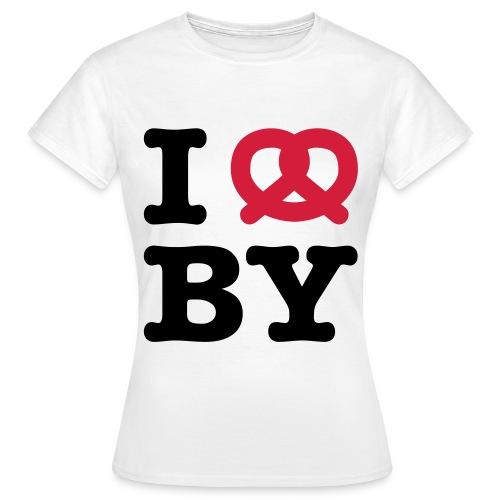 I ❤ BY × I Love Bayern - Frauen T-Shirt