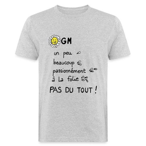 OGM - T-shirt bio Homme
