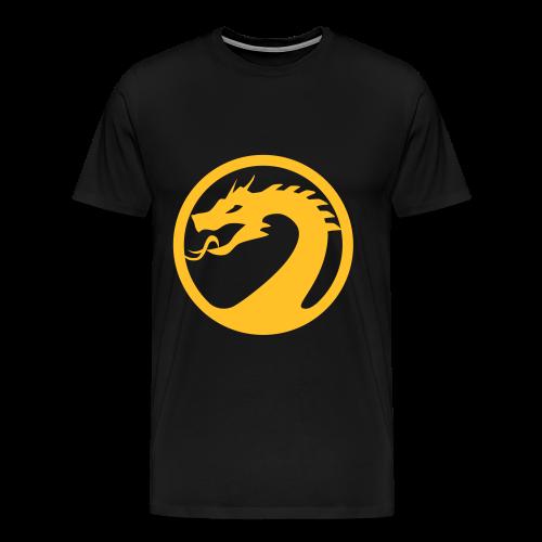 #ShirtYellowMEN - Männer Premium T-Shirt