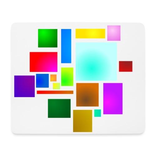 Squares - Mousepad (Querformat)