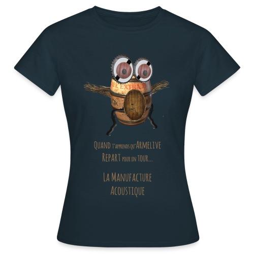 T Shirt Femme - La Manufacture - T-shirt Femme