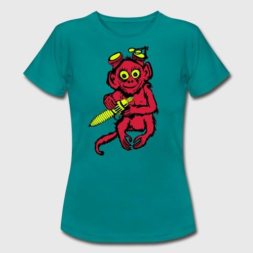 Steampunk Monkey Women's T-Shirt - Women's T-Shirt