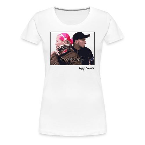 No friendship Girlie - Frauen Premium T-Shirt