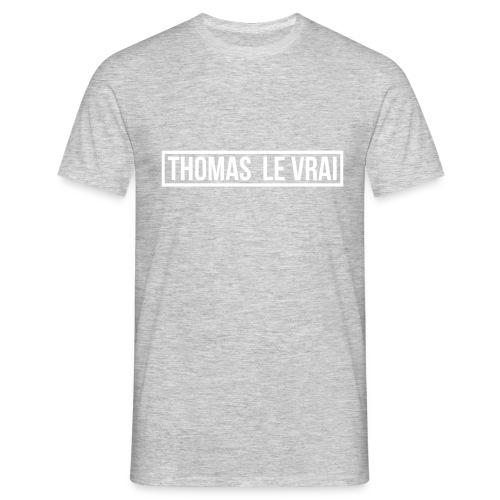 Tee-Shirt  Homme THOMAS LE VRAI - T-shirt Homme