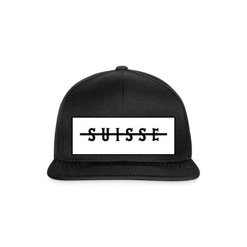 Suisse Snapback-Black - Snapback Cap