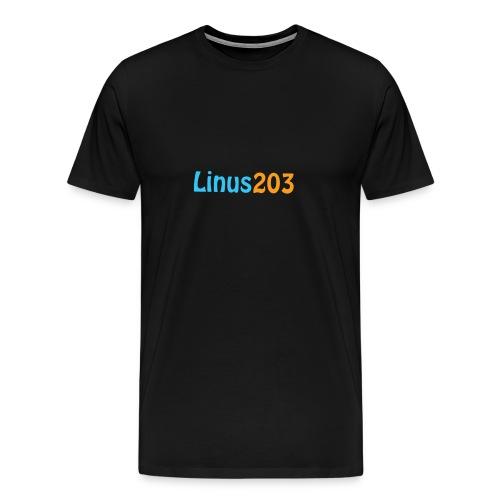 Linus203 T-Shirt (Ändast Fram) - Premium-T-shirt herr