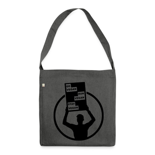 Shopping Bag (made from recycled material) - Shoulder Bag made from recycled material