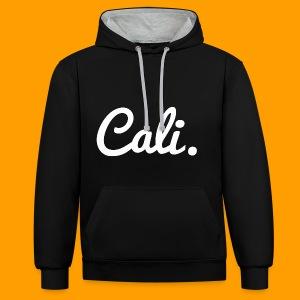 Cali's Kapuzenpullover - Kontrast-Hoodie