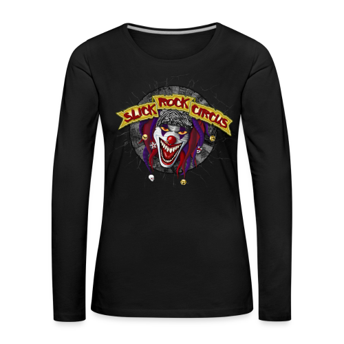 Slick Rock Circus - Evil Clown Girlie Longsleeve - Frauen Premium Langarmshirt