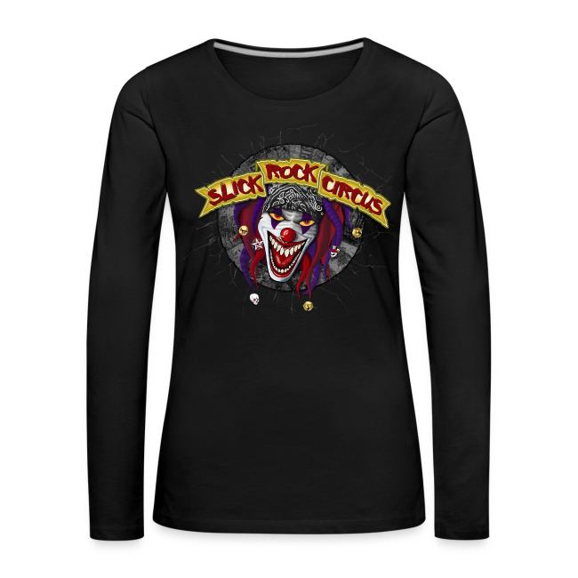 Slick Rock Circus - Evil Clown Girlie Longsleeve