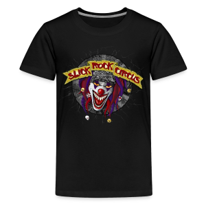 Slick Rock Circus - Evil Clown Teenager Tee - Teenager Premium T-Shirt