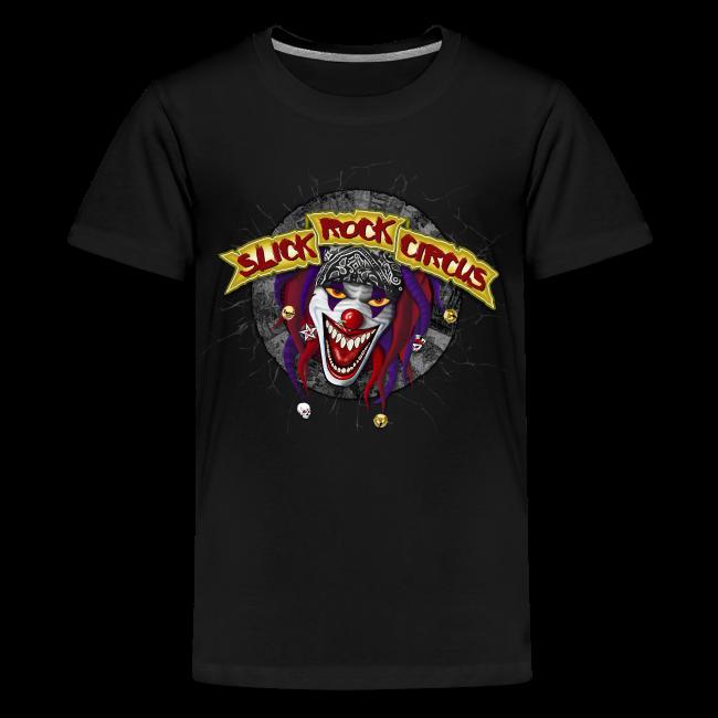 Slick Rock Circus - Evil Clown Teenager Tee