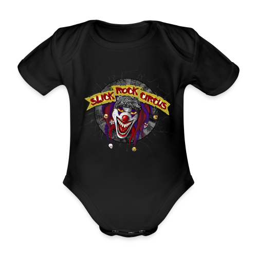Slick Rock Circus - Evil Clown Baby Body - Baby Bio-Kurzarm-Body