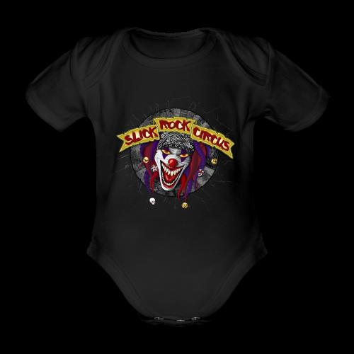 Slick Rock Circus - Evil Clown Baby Body - Baby Bio-Kurzarm-Body