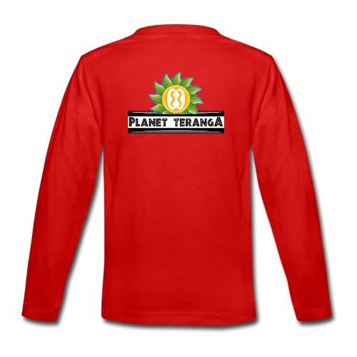 T-shirt Teranga color Premium Ado  - T-shirt manches longues Premium Ado