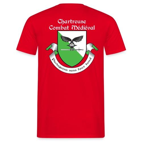 T-shirt Chartreuse Combat Médiéval Homme - T-shirt Homme