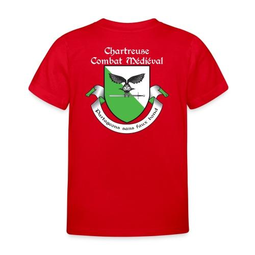 T-shirt Chartreuse Combat Médiéval Enfant - T-shirt Enfant