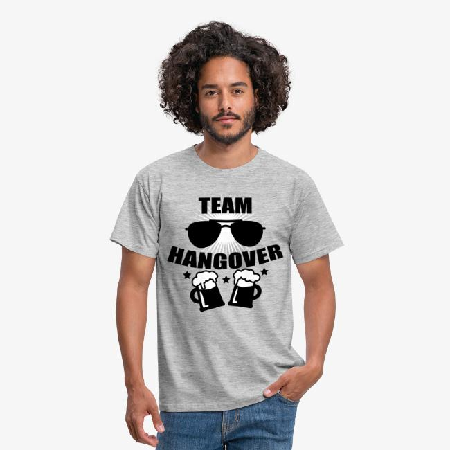 8ca617f1b3d340 Team Hangover Sonnenbrille JGA Sunglasses 2c Party Member Alkohol Shirt