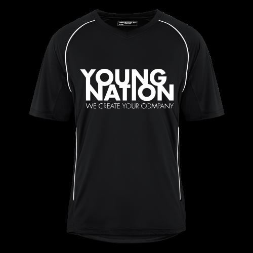 YN Soccer Shirt - Männer Fußball-Trikot