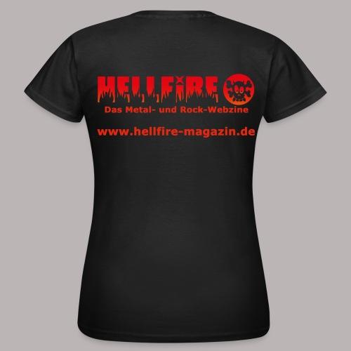 Hellfire Girlie - Frauen T-Shirt