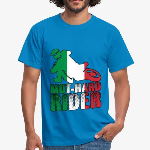MOT-HARD RIDER Italia - Maglietta da uomo