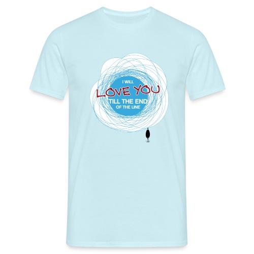 #line Shirt - Männer T-Shirt