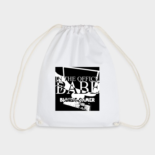 IN THE OFFICE, BABE Bag - Drawstring Bag