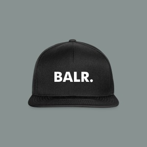 White on Black BALR. Snapback Cap - Snapback Cap