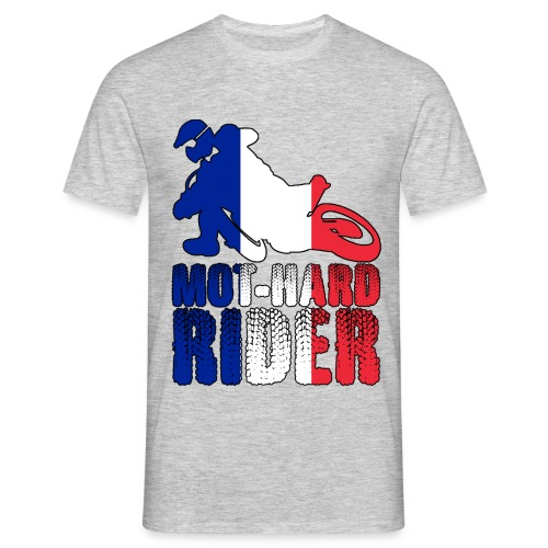 MOT-HARD RIDER France - Maglietta da uomo