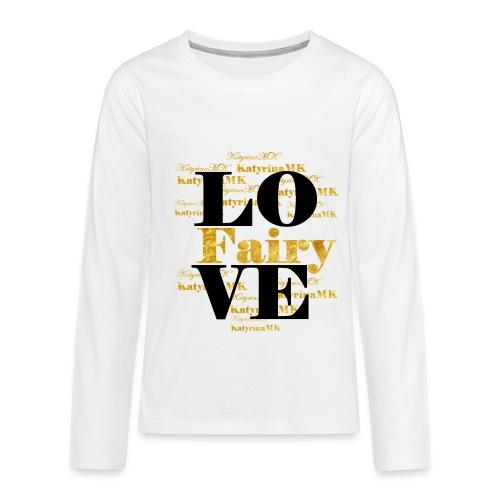 Golden Edition KatyrinaMK Shirt für Teens - Teenager Premium Langarmshirt
