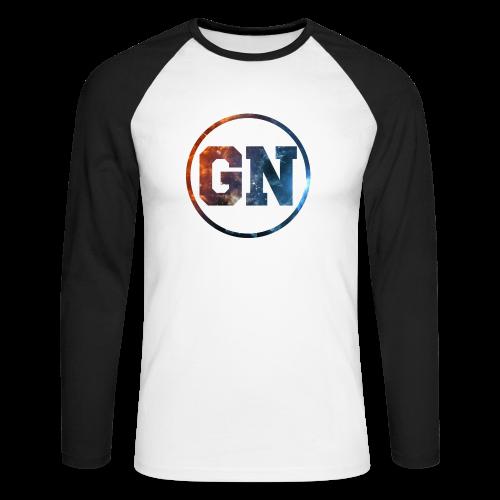 Långärmad tröja GN Galaxy logga - Långärmad basebolltröja herr