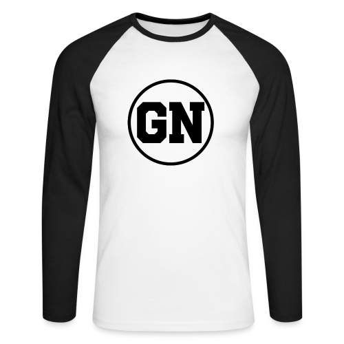 Långärmad tröja GN regular logga - Långärmad basebolltröja herr
